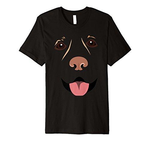 Labrador Gesicht Lustiger Labradorhund Halloween ()