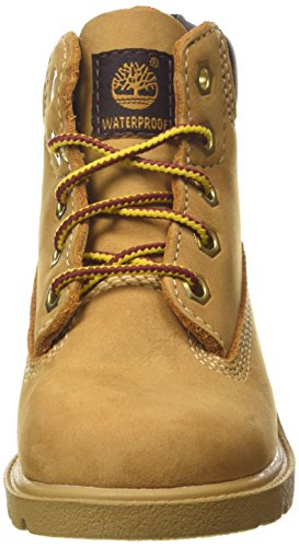 Timberland 6 In Classic Boot FTC_6 In Classic Boot, Bottines avec doublure intérieure mixte enfant Jaune
