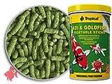 Tropical K-100 Koi und Goldfisch Vegetable Sticks