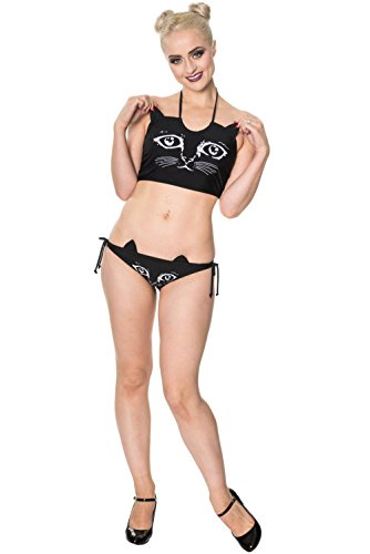 Banned Bikini Top NIGHT WHISPERS 1669 black Black