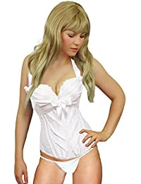Yummy Bee Corset-Bustier Amincissant Femme Burlesque Mariage Sexy Lingerie Grande Taille Grande Taille 34 - 52