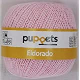 50g Puppets Eldorado - Farbe: 7510 - rosa - Häkelgarn Stärke 10