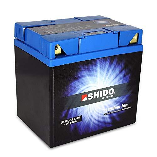 Batería shido Connect Lithium lix30l CNT/YIX30L de BS, 12V/30ah (Dimensiones: 166x 126x 175)