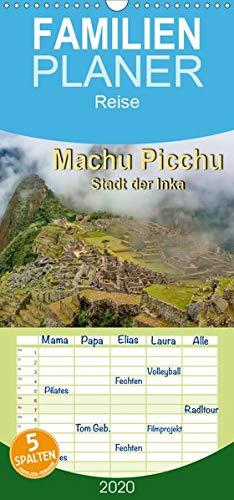 Machu Picchu - Stadt der Inka - Familienplaner hoch (Wandkalender 2020 , 21 cm x 45 cm, hoch): Machu Picchu, Ruinenstadt der Inka mit besonderem Reiz ... (Monatskalender, 14 Seiten ) (CALVENDO Orte)
