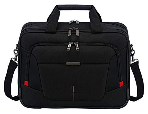 Travelite Organisiert verpackt: Mehrteilige Business-Gepäckserie @work für Ihre erfolgreiche Geschäftsreise Sporttasche, 41 cm, 16 Liter, schwarz