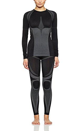 Medico Seamless-Set Damen, hochwertige Profi-Funktionsunterwäsche ohne störende Nähte, Skiunterwäsche, Motorradunterwäsche, Thermounterwäsche, hochelastisch