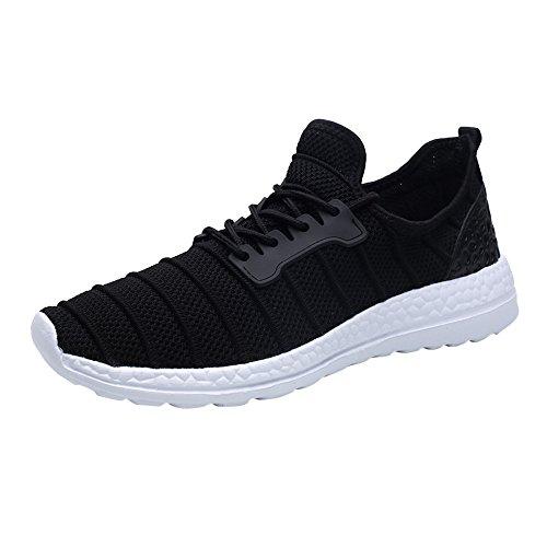 Electric Sneakers Mode,Printemps été Intérieur extérieur Sneakers d'été Unisexe Beathable Mesh Casual Shoes Chaussures de Voyage à Lacets