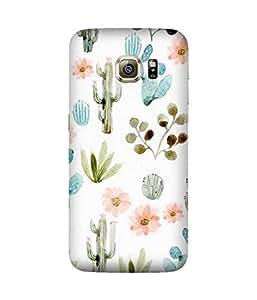 Cactus Love Samsung Galaxy S6 Edge Case