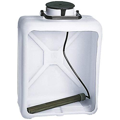 Berger Warmwasserheizstab 230 V / 75 W, Wasserkanister oder Wassertank, keine Verbrühungsgefahr, Temperatur: 40 °C