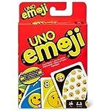 Mattel games - jeu de cartes uno emoji