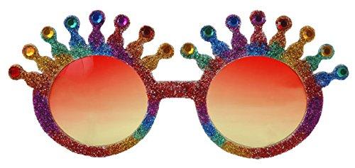 Rainbow Festival Fun Kostüm Sonnenbrille Party Gag Geschenk New Year 's (Kostüme Co Worker)