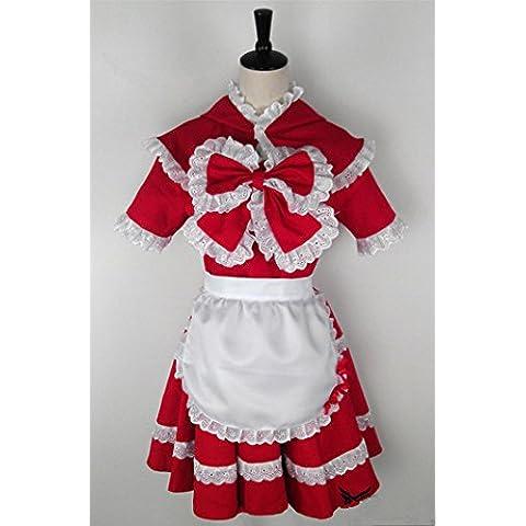 Vivian LOL League of Legends The Dark Child Annie Little Red Riding Hood Cosplay Disfraz Customize b2 ,Tamaño S:150-160