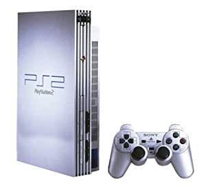 Silver Sony PS2 Console with one controller: Amazon.co.uk