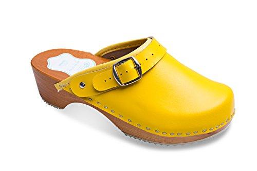 CFP - zapatilla baja mujer , color amarillo, talla 39 1/3
