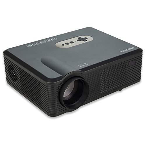 CL720 3000LM 1280x800 Heimkino-LED-Projektor mit Fernbedienung, Unterstützung for HDMI-, VGA-, YPbPr-, Video-, Audio-, TV- und USB-Schnittstellen Beamer (Farbe : Black)