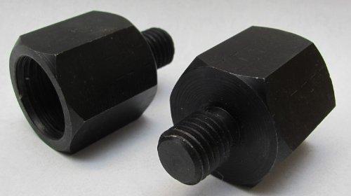 Drechsel-Adapter f. Drechselbank Planscheibe drechseln M 33 M33 IG + M 18 M18 AG