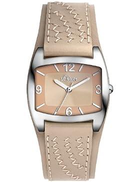s.Oliver Damen-Armbanduhr XS Analog Quarz Leder SO-2767-LQ