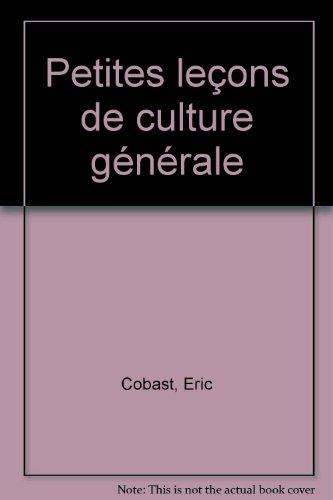Petites leçons de culture générale