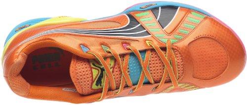 Puma Accelerate Vi Tricks, Chaussures sports en salle homme Orange / Jaune