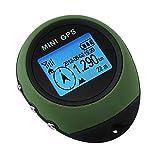 TIANG Mini navigatore GPS Portatile/Ricevitore Portatile con Portachiavi per Escursioni in Campeggio Caccia Campeggio Viaggi Avventure Sportive all'aperto