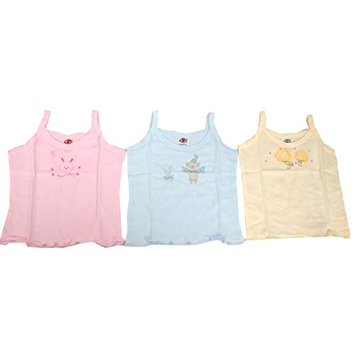 Gurukripa Inner Wear Undershirt Slip Unisex Vest (0 To 3 Month & Pack Of 3 Pcs )