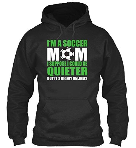 Bequemer Hoodie Damen / Herren / Unisex von Teespring | Originelles Outfit für jeden Anlass und lustige Geschenksidee - Soccer Mom (Soccer Mom)