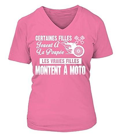 Moto T-shirt/ Hoodie T-shirt Femme Teezily