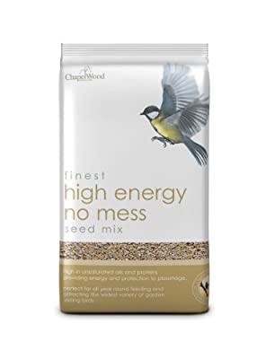 Chapelwood High Energy 'no Mess' Seed Mix 12.75kg from Chapelwood