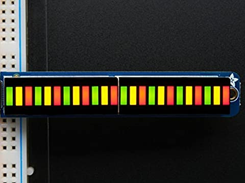 Adafruit Balkenanzeige mit 24 Segmenten - Zweifarbig (rot/grün) - Inkl. I2C-Backpack