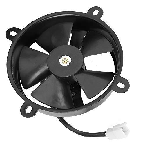 Quad ATV Elektrische Lüfter, 150c 200cc Ölkühler Kühler Thermo Fit für Dirt BikeTractor Mäher Buggy (6 Zoll)