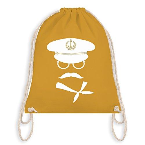 Shirtracer Schiffe - Matrose weiß/gold - Unisize - -