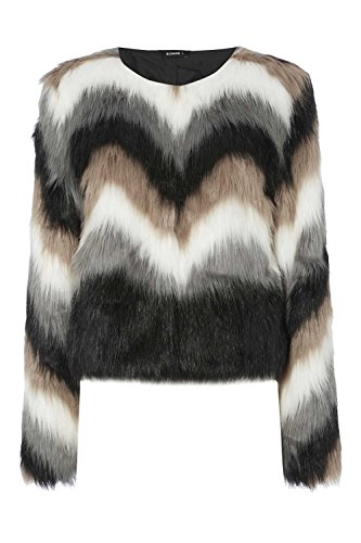 Roman Originals Women's Faux Fur Jacket