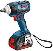 Bosch Cordless Impact Wrench GDS 18 V-EC 250 Professional Impact Wrench (Brushless Motor)