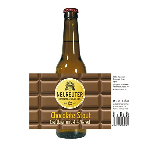 Chocolate Stout Craftbier mit 4,2 vol%