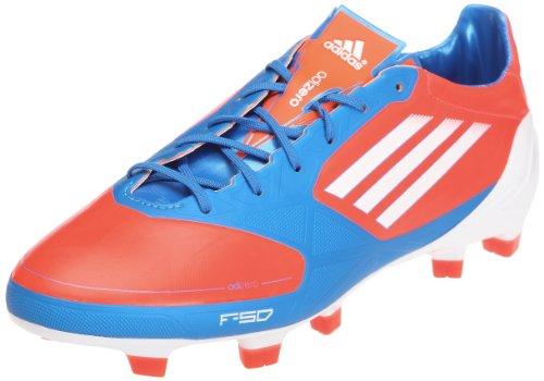 adidas F50 adizero TRX FG Synthetik ROT V21436 Grösse: 40 2/3 infrared-running white-bright blue (V21436)