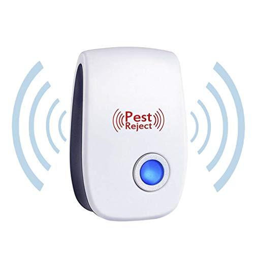 VHNVHN Repellent elettronico del Ratto dei Topi di Controllo del Repeller del parassita ultrasonico Portatile