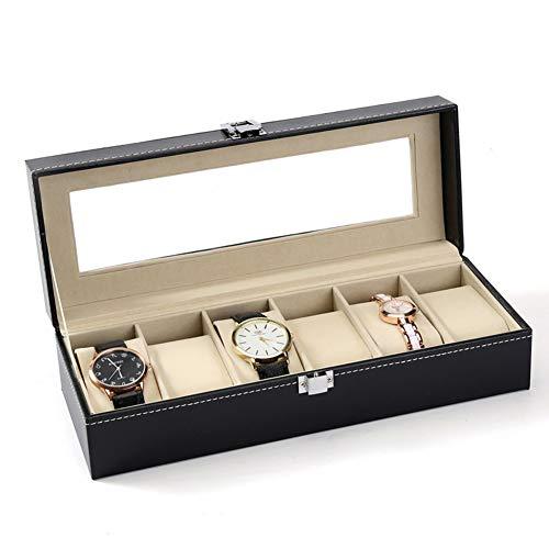 CLEAVE WAVES Uhr Veranstalter Für Männer 6 Pu-Leder Beliebte Uhr Aufbewahrungsbox Uhrenbox High-End Schmuck Display Box