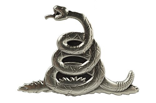 Don 't Tread On Me Rattlesnake Biker Motorrad Jacke Weste Hat Krawatte Tack Revers PIN von Biker Sammlerstücke