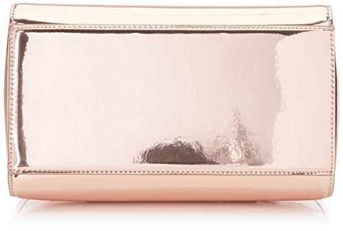 Trussardi Jeans 75b00180-1y000035, Borsa a Mano Donna, 19 x 26 x 14 cm (W x H x L) Rosa (Nude)