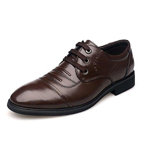 Uomo Scarpe di pelle Attività commerciale Scarpe casual Scarpe da lavoro Ballerine euro DIMENSIONE 38-44 brown