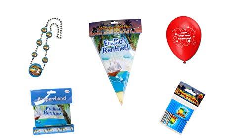 entner/Ruhestand: Absperrband, Ballons, Kette, Picker, Wimpelkette ()