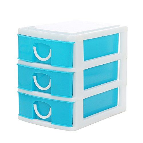 Cadillaps Mini 3cajones caja almacenamiento pantalla