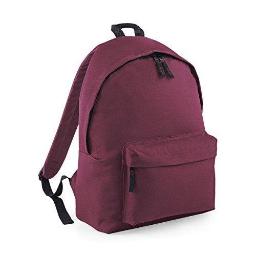 BagBase Junior Fashion mochila b125j rojo granate
