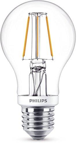 Philips - Bombilla decorativa LED con filamento, E27, 5.5 W, equivalente a 40 W, estilo vintage