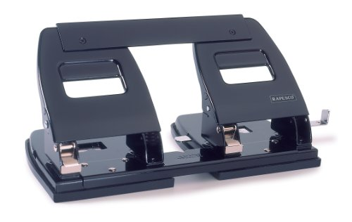Rapesco PF90A0B1 - Perforador papel capacidad 35 hojas