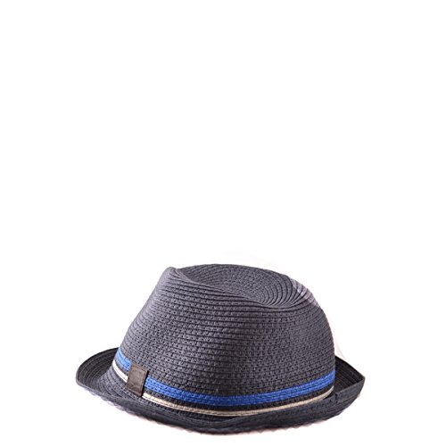 ac5d90449 Fred Perry Mens Navy Straw Twin Tipped Trilby Hat M - Buy Online in ...