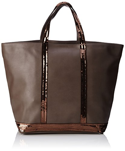 Vanessa bruno femme cabas medium cuir et paillettes for Bruno fourniture de bureau
