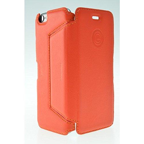 Galeli G-IP6PFOLIO-05 Folio Case in blau für Apple iPhone 6 Plus apricot