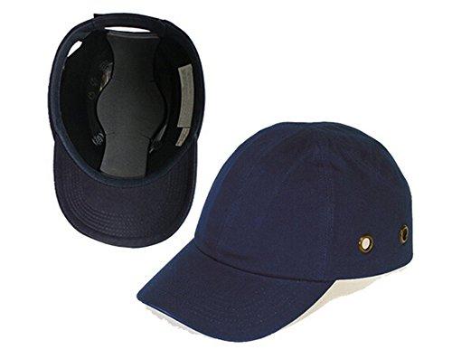 Babimax Sicherheitskappe Schutzkappe Baseball Cap Anstoßkappe Arbeitskappe Hard Cap verstellbar vier Lüftungslöcher anti-Absturz anti-Schock leicht komfortabel Sport Industrie Autoherstellung Transport (Sport-industrie)