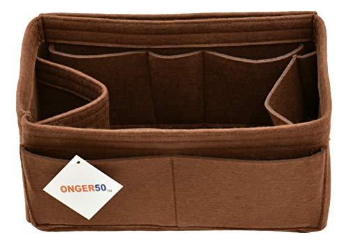 ONGER50 Filztasche/Handtasche/Organizer für mehrere Taschen, Braun (braun), Small (Speedy Base Shaper)
